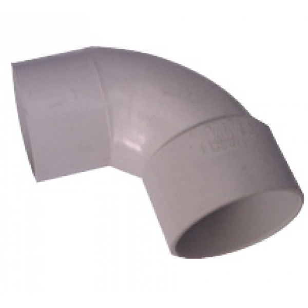 PVC DWV Elbow 88° M&F 50mm