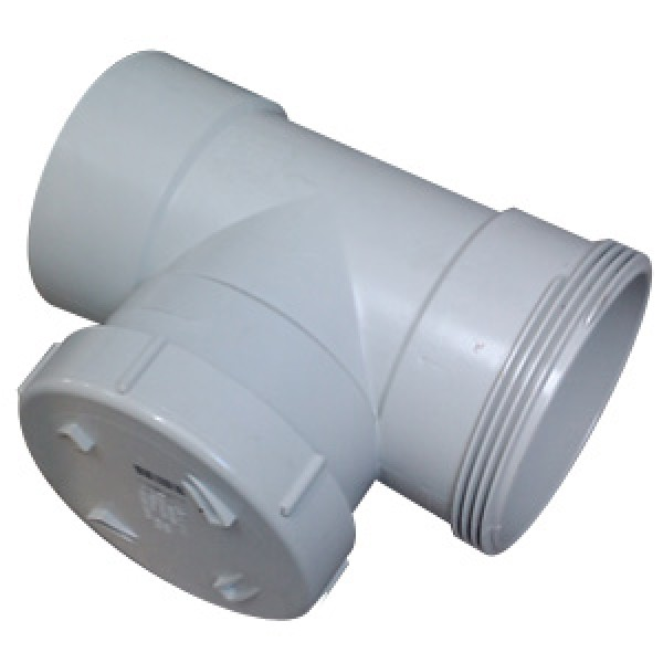100mm Sewer Water Inspection Tee
