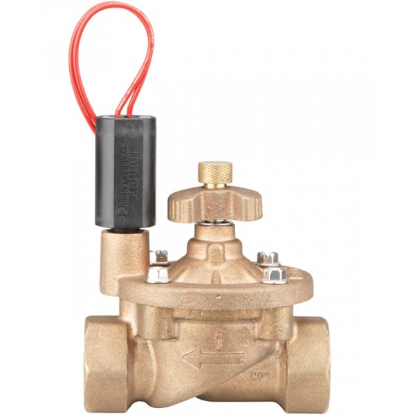 Hunter IBV Brass Solenoid Valve 25mm (inc. Flow Cont.)