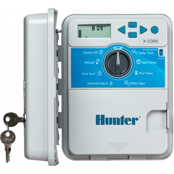 Hunter X-Core 4 Zone Outdoor Controller