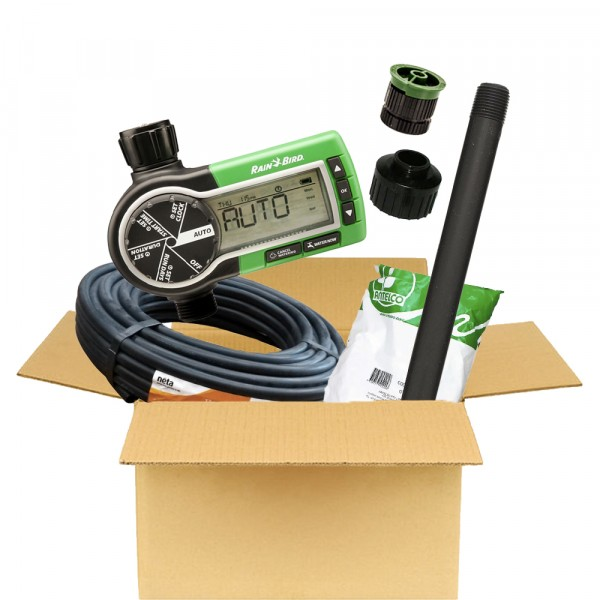 Garden Spray Irrigation DIY Kit (inc. Rainbird Timer)