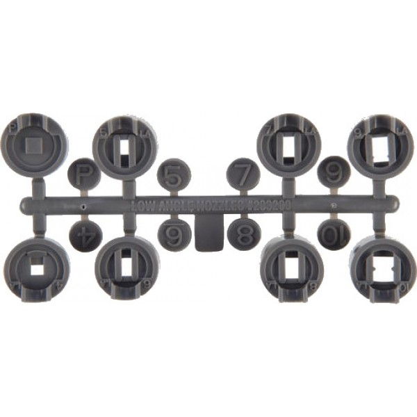 Hunter PGP Grey Low Angle Nozzle Rack
