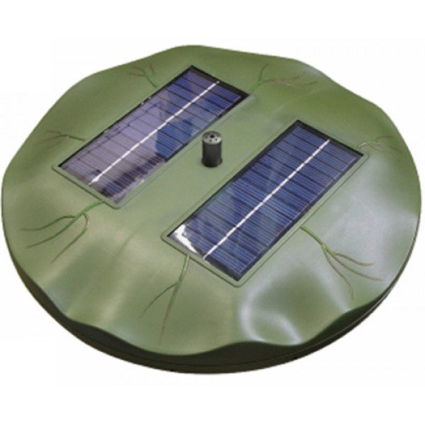Reefe Solar Floating Lily Fountain